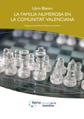 Libro Blanco. La familia numerosa en la Comunitat Valenciana