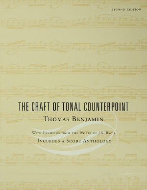 The Craft of Tonal Counterpoint