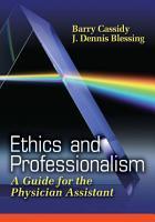Ethics and Professionalism PDF