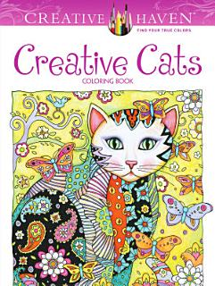 Creative Haven Creative Cats Coloring Book Book