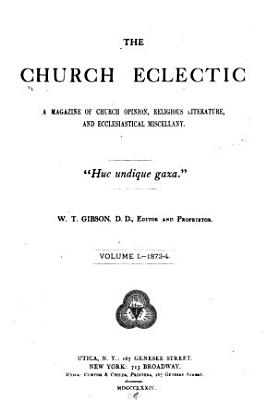The Church Eclectic PDF