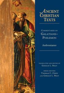 Commentaries on Galatians  Philemon PDF