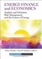 Energy Finance and Economics PDF