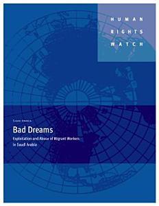 Saudi Arabia  Bad Dreams PDF