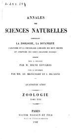 Annales des sciences naturelles: Zoologie, Volume17