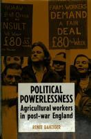 Political Powerlessness PDF