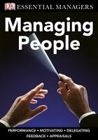 DK Essential Managers  Managing People PDF