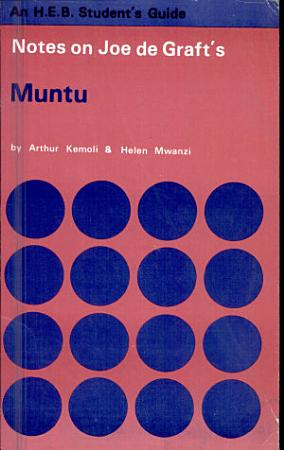 Notes on Joe de Graft s Muntu PDF