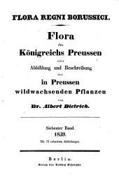 Flora regni Borussici: flora des Königreichs Preussen oder Abbildung und Beschreibung der in Preussen wildwachsenden Pflanzen, Band 7