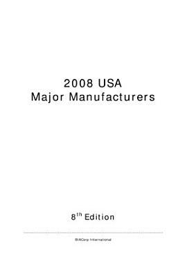 USA Major Manufacturers PDF