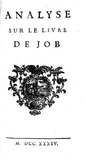 Analyse sur le livre de Job