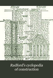 Radford's Cyclopedia of Construction: Carpentry, Building and Architecture, Based on the Practical Experience of a Large Staff of Experts in Actual Construction Work, Volume 7