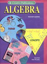 Algebra: Themes, Tools, Concepts -- Teachers' Edition