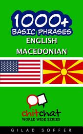 1001+ Basic Phrases English - Macedonian