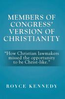 Members of Congress  Version of Christianity PDF