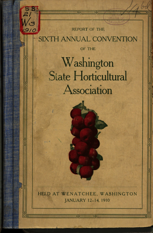 Proceedings  Annual Meeting of the Washington State Horticultural Association