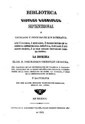 Biblioteca hispano americana setentrional: Volumen 2