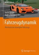 Fahrzeugdynamik PDF