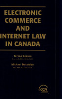 Electronic Commerce and Internet Law in Canada PDF