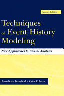 Techniques of Event History Modeling