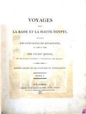 Voyages dans la Basse et la Haute Égypte, pendant las campagnes de Bonaparte, en 1798 et 1799