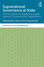 Supranational Governance at Stake PDF
