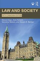 Law and Society PDF