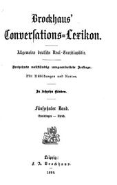 Brockhaus' Conversations-Lexikon: Band 15