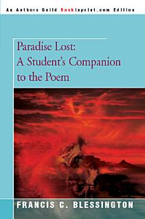 Paradise Lost  A Student s Companion to the Poem Book