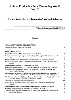 Animal Production in Australia PDF
