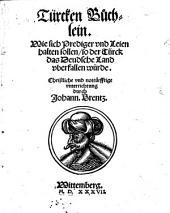 Türcken-Büchlein