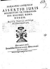 Assertio iuris Moguntini in coronandis regibus Romanorum