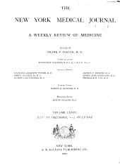 International Record of Medicine and General Practice Clinics: Volume 76