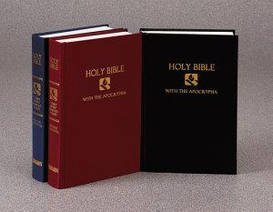 NRSV with Apocrypha Pew Bible Black