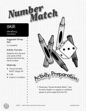 Identifying Numbers--Number Match Activity