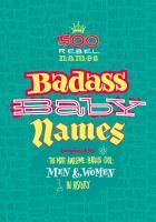 Badass Baby Names PDF