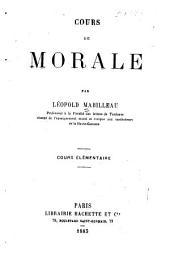 Cours de morale ... cours élémentaire