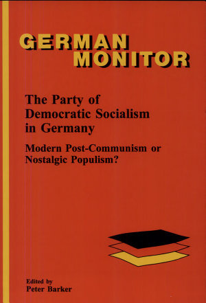 The Party of Democratic Socialism in Germany PDF