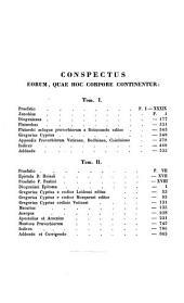 Corpus Paroemiographorum Graecorum: Diogenianus. Gregorius Cyprius. Marcarius. Aesopus. Apostolius et Arsenius. Mantissa proverbiorum