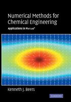 Numerical Methods for Chemical Engineering PDF