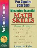 Pre Algebra Concepts Book