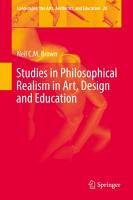 Studies in Philosophical Realism in Art  Design and Education PDF