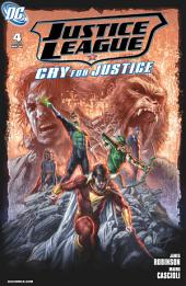 Justice League: Cry for Justice (2009-) #4