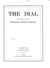 The Dial: Volume 63