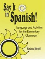 Say it in Spanish  PDF