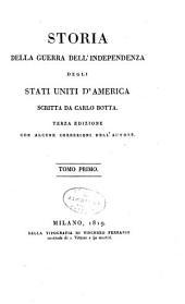 Storia della guerra dell'independenza degli Stati Uniti d'America: Volume 1