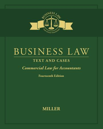 Business Law  Text   Cases   Commercial Law for Accountants PDF