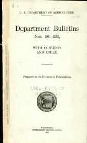 Department bulletin: Issues 501-525
