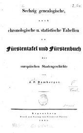 Fürstenbuch zur Fürstentafel der europäischen Staatengeschichte: Band 2