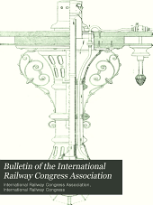 Bulletin of the International Railway Congress Association: Volume 15, Issue 1